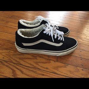 Vans Suede Sherpa Sneakers | Poshmark